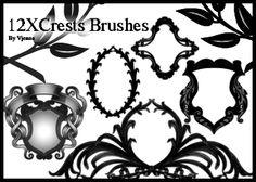 crests brushes by ~visualjenna on deviantART
