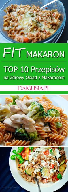 Fit Pasta - TOP 10 Recipes for a Healthy Noodle Dinner - Damusia.