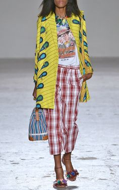 Stella Jean Spring/Summer 2015 Trunkshow Look 19 on Moda Operandi