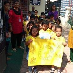 Check out the students of Kidzee Punespreading out the message of a #SmokeFreeDiwali. Isn't it amazing? #EarlyChildhoodEducation #BestPreschool #Preschool #PicOfTheDay #Preschool #AsiasLargest #EarlyEducation #India