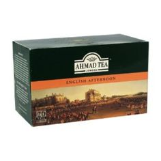 I'm learning all about Ahmad Tea English Afternoon Tea at @Influenster!