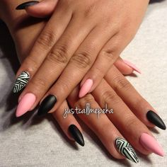 Tribal design with matte!