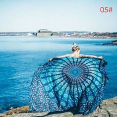 Mandala Throw Blanke