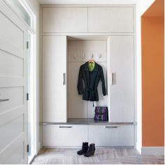 Built in closet. Utilize space as best as possible