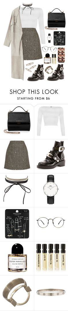 """sparkling"" by millicent4 ❤ liked on Polyvore featuring Givenchy, WearAll, Yves Saint Laurent, Balenciaga, Charlotte Russe, Topshop, Byredo, Le Labo and Hansen"