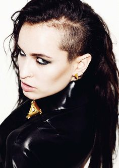 alice dellal - the woman and legend who inspired me to shave half my head.