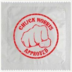 Préservatif Chuck Norris #chucknorris #preservatif