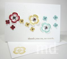 Madison Avenue flowers - great note card!