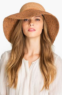 Helen Kaminski - Provence Hat: Repin for the chance to win with #conradcarryon - Full details at http://conradconnect.com/carryon