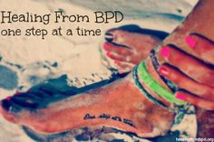 HealingFromBPD.org: Healing From BPD -- One Step at a Time