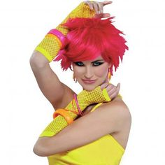 80s Neon Yellow Gloves http://www.costumecollection.com.au/costume-accessories/gloves/80s-neon-yellow-gloves.html