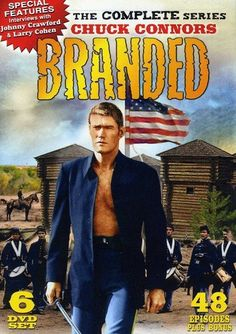 Branded: The Complete Series (DVD 2010 Set) Chuck Connors 48 Episodes Larry Cohen, Chuck Connors, Johnny Crawford, Nostalgia, The Rifleman, Drama, Burt Reynolds, Tv Westerns, Old Tv Shows