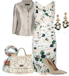"""""""Dolce & Gabbana for Spring"""" by yasminasdream ❤ liked on Polyvore"""