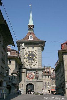 La torre Zytglogge, Berna, Suiza