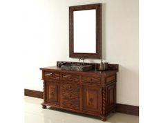 "James Martin Furniture 60"" Continental Single Bathroom Vanity http://www.maxfurniture.com/bathroom/single-vanities/60-continental-single-bathroom-vanity-cabinet-only.html #furniture #vanity #decor"
