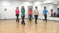 line dance cha cha Ritmo - YouTube