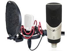 Sennheiser MK 4 bundle w/ Rycote USM-L MK4 Kondensator mikrofon m/ Rycote USM-L - Gitarhuset AS