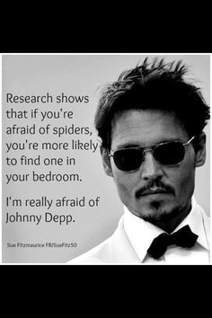 Johhn Depp spiders
