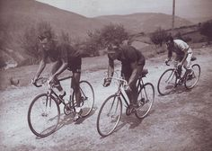 Bobet, Desbat and Bidot - Tour de France 1950