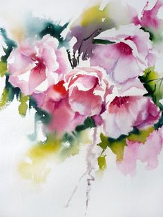 Jean Claude Papeix Watercolor #watercolorarts