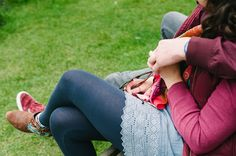 Sean & Ros' engagement photos at Bradgate Park | Mustard Yellow Photography #engagementphotos