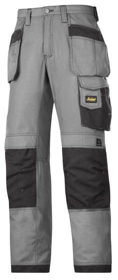 Advanced Holster Pocket Trousers made for the true #craftsman that wants to turn down the heat. The super-light and durable #rip-stop fabric combined with the Cordura® reinforcements help you work with comfort, even when it's hot outside. - Snickers Workwear Artnr. 3213