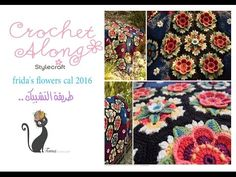 Yarn for Frida's flowers cal - YouTube