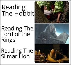 Not to mention History of Middle-earth Weiblicher Elf, History Of Middle Earth, J. R. R. Tolkien, O Hobbit, Legolas, Lord Of The Rings, Lotr, Book Worms, Funny Memes