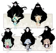 [CLOSED] ADOPT AUCTION 93 - Lovely Guardians by Piffi-adoptables.deviantart.com on @DeviantArt