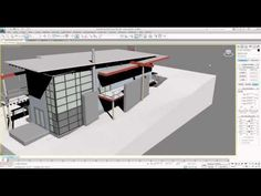In this session we will take a closer look at some of the new tools in the latest suite of Building Information Modeling (BIM) software from Autodesk. Contemporary Bathroom Lighting, Contemporary Bathroom Designs, Bathroom Design Luxury, Bathroom Tile Designs, Modern Bathroom, Master Bathroom, 3ds Max Design, 360 Design, 3d Max Tutorial