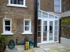 lean to conservatory side return