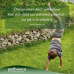 Designed For Hope: How Chiropractic Honors the Health Already Within Your Child by Nick Spano, DC in Pathways to Family Wellness issue # 34 Benefits Of Chiropractic Care, Chiropractic Quotes, Chiropractic Center, Chiropractic Office, Chiropractic Wellness, Massage Benefits, Health Benefits, Health Advice, Health Quotes