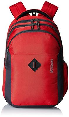 Buy #8: American Tourister 27 Lts Comet Red Laptop Backpack (Comet 01_8901836135282)
