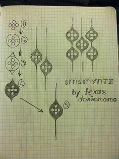 Tangle pattern: Ornamyntz
