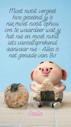 Pig Wallpaper, Cute Piglets, Afrikaanse Quotes, Best Quotes, Nice Quotes, Goeie More, Little Pigs, Gods Love, Mom And Dad