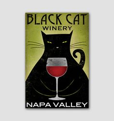 Blact Cat Fat Cat CUSTOMIZE PERSONALIZE Brewing by nativevermont, $89.00