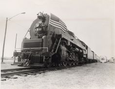 The Freedom Train — a 22-car traveling U.S. bicentennial museum — puffed into Columbus, Ohio on May 21, 1975, pulled by a restored steam engine.The Freedom Train visited all 48 mainland states with exhibits for the nation's bicentennial.