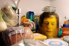 HALLOWEEN CRAFT: How To Put A Severed Head In A Jar
