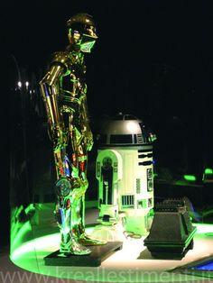 2005 - Star Wars The Show - Triennale Milano - progetto Arch. Pedretti Alessandro - Krea allestimento