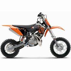 KTM Dirt bike for my son :)
