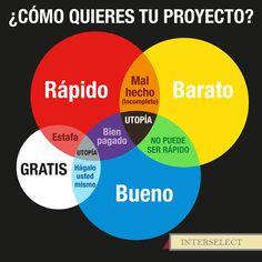¿Cómo quieres tu proyecto?
