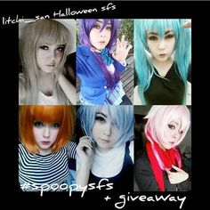 Hai guys! This here cosplayer is @litchi_san and she is currently hosting an awesome SFS/giveaway thingy! - I started following her a while back and all of her makeup is SUPREMELY on point as well as her cosplays she is also into Kpop which is AWESOME since I'm also into Kpop and I honestly wouldn't mind if she posted about it more lol and this may sound weird or whatever but I love her face! It's just so perfect for whatever cosplay she does!! I'm kind of jealous xD - I would love to win…