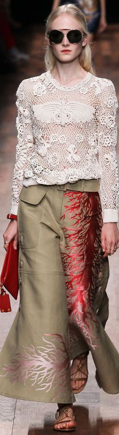 Incredible! Valentino.Spring 2015.