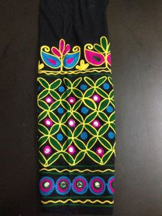 Good Morning Flowers, Hand Embroidery Designs, Blouse Designs, Paisley, Leggings, Stuff To Buy, Shopping, Color, Fashion