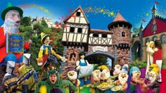 Fairy Park - Tales, Myths and Legends. Discover Fairytale Land's magic. Follow the sweeping pathways and discover the fairytale stories. Jus...