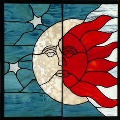 sun moon art - Google Search