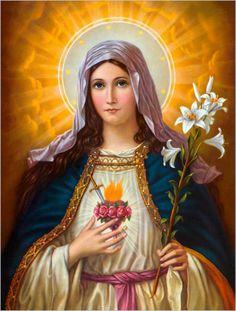 Veneração ao Imaculado Coração de Maria-pt   Voz e Eco da Mãe Divina