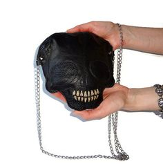 This leather skull bag — $80 | 19 Super Stylish Things So You Can Dress Like A Witch Every Damn Day