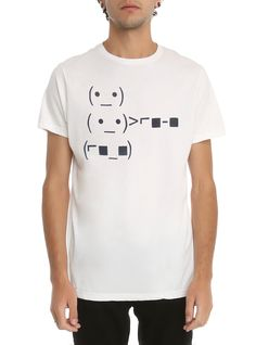 Cool Text Emoji T-Shirt | Hot Topic