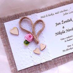 SvadbyVerixlenka / svadobné oznámenie